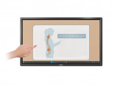 i3TOUCH Premium Interaktives 4K Touchdisplay 65