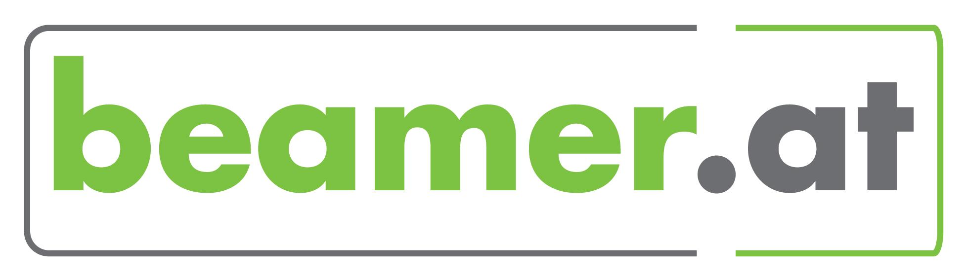 beamer.at  ein Service der projektor.at Präsentationstechnik GmbH-Logo